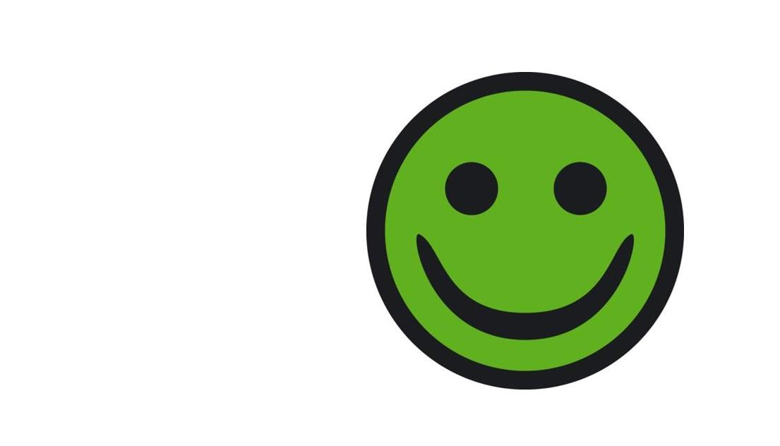 Vi har den grønne smiley fra Arbejdstilsynet